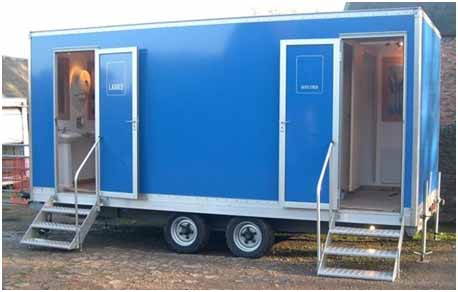Portable Toilets Prefabricated Toilets Security Guard